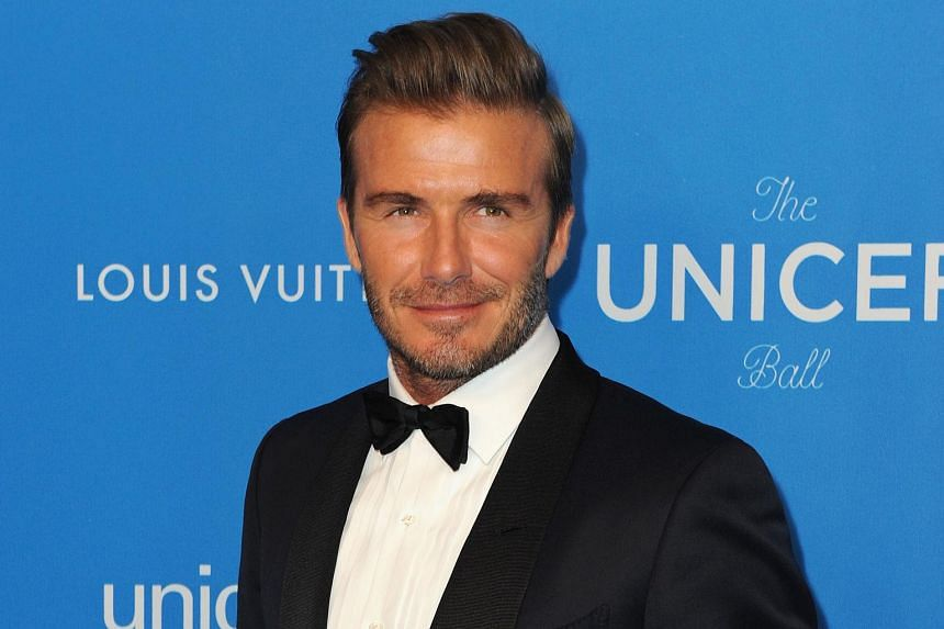 David Beckham has been seeking partners to invest US$300 million in a planned football club in Miami.