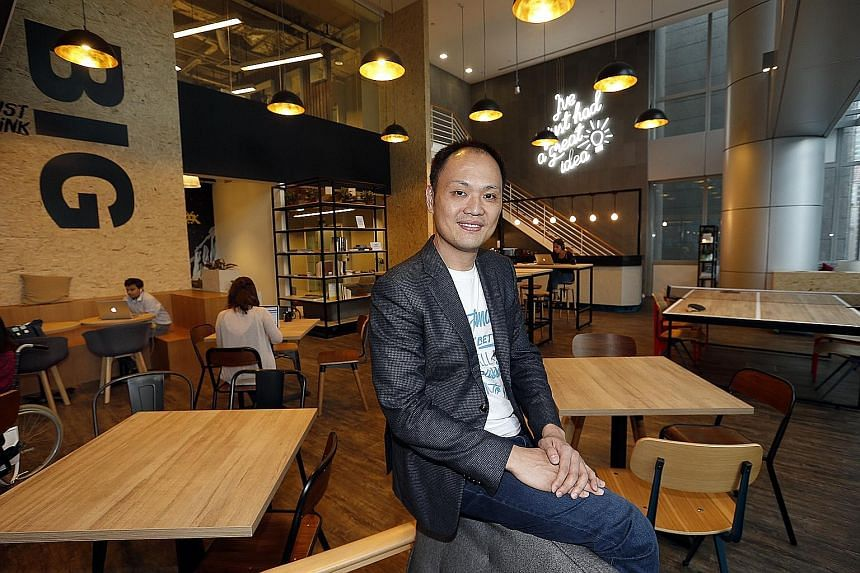 JustGroup founder and chief executive Kong Wan Sing says businesses need his facilities to swiftly implement their plans.