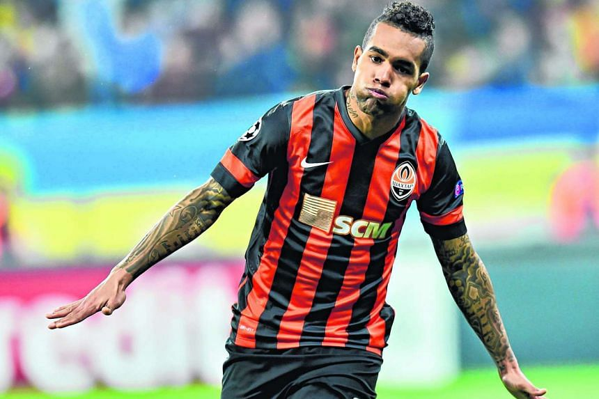 Footballer Alex Teixeira is one of Jiangsu Suning's high-profile new signings.