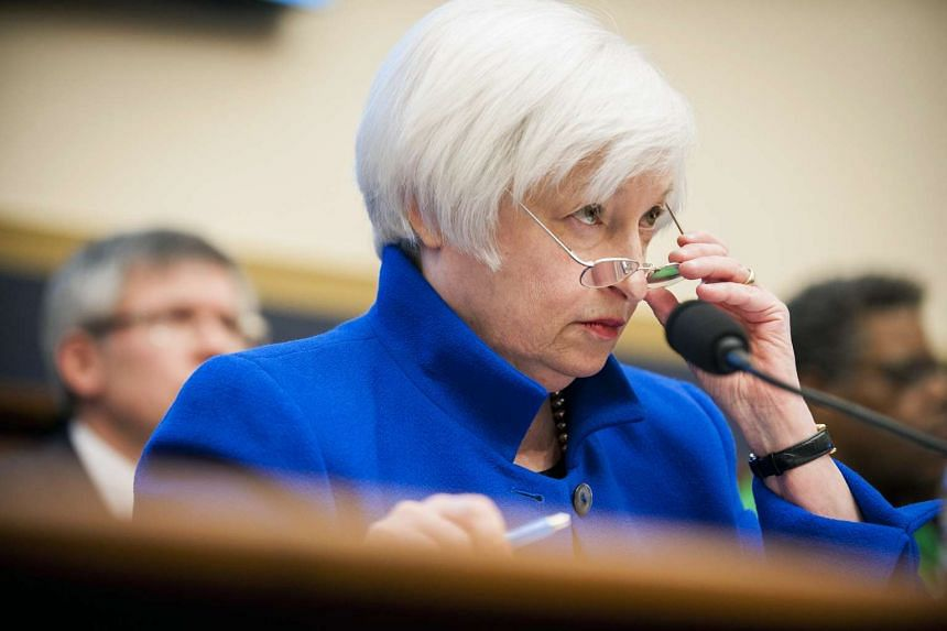 US Federal Reserve chair Janet Yellen at her semi-annual monetary policy report to the House Financial Services Committee.