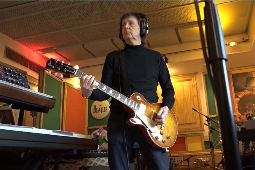 The former Beatle was asked by Skype to write a series of sounds to go with video chat emojis.