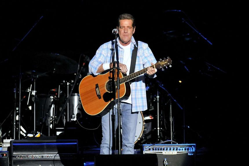 Glenn Frey performs with the Eagles at the Singapore Indoor Stadium in 2011.
