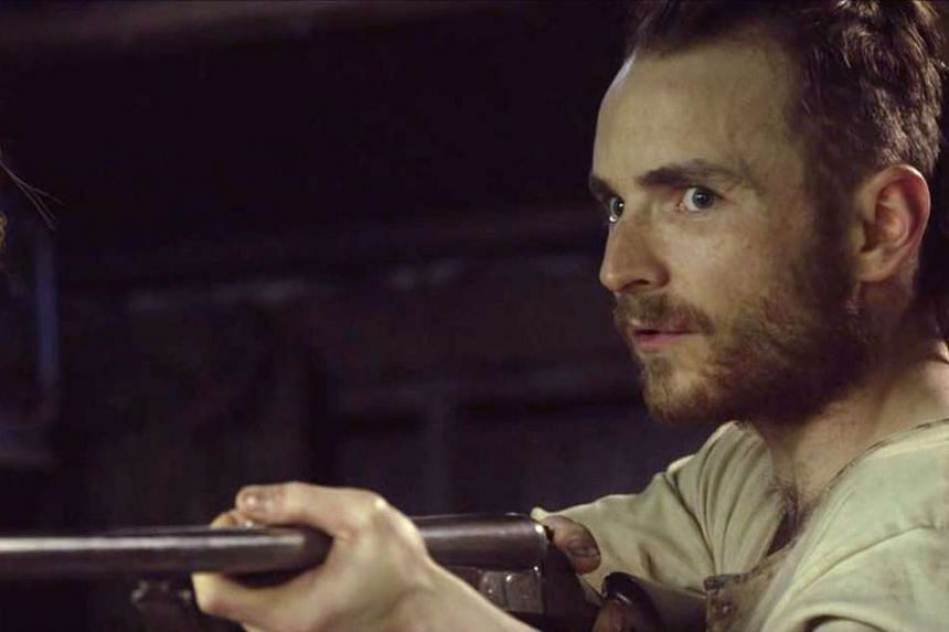 Martin McCann plays a loner making his own way in the wilderness in The Survivalist.