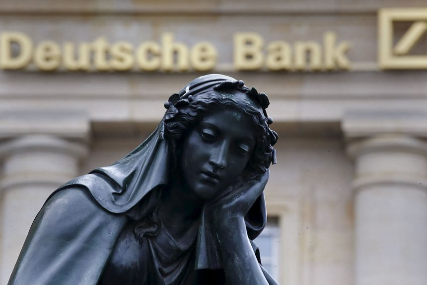 Concerns about Germany's Deutsche Bank have sent shares of the US banking sector down. The bank's shares hit a record low on Tuesday, following their 9.5 per cent plunge the day before.