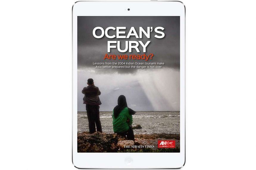 The Straits Times' e-book Ocean's Fury is part of an award-winning project marking the 10th anniversary of the 2004 Indian Ocean Tsunami.