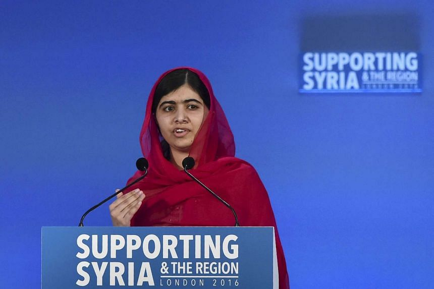 """Pakistan's TV regulator censured a news channel for airing """"hate speech"""" against Malala Yousafzai (above)."""