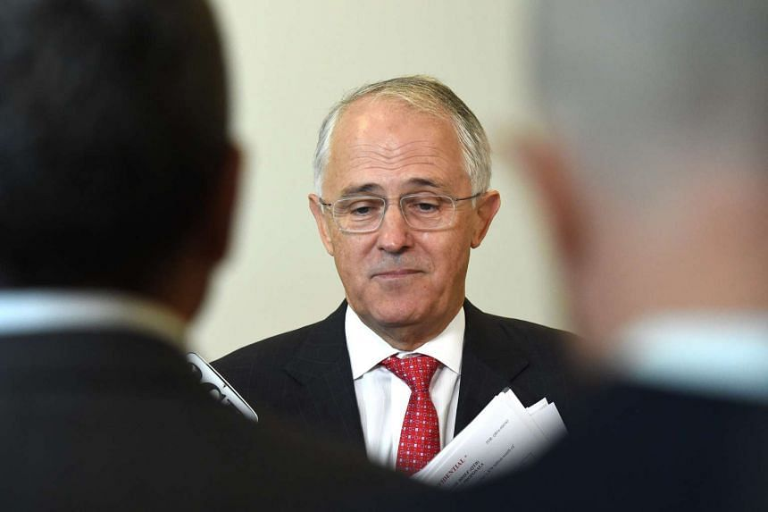 Mr Turnbull said that Human Services Minister Stuart Robert had attended a meeting during an unofficial China trip.