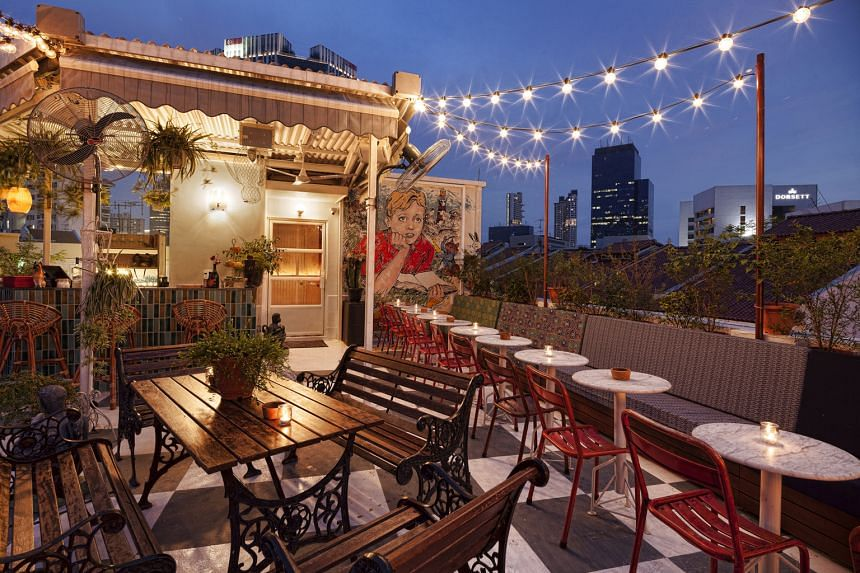 The Rooftop at Potato Head Folk has undergone a revamp and will increase seating capacity.