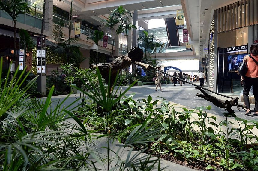 Westgate mall is part of CapitaLand Mall Trust's portfolio. Retail Reits are tipped by analysts to be a good bet, and those with suburban exposure and assets with a bit more scale in terms of size and offerings will do better, said Mr Derek Tan of DB