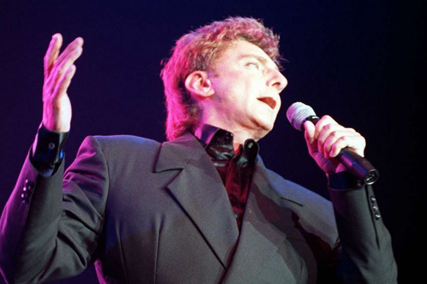 Manilow (above, in a file photo) has said that his ongoing tour will be his last.