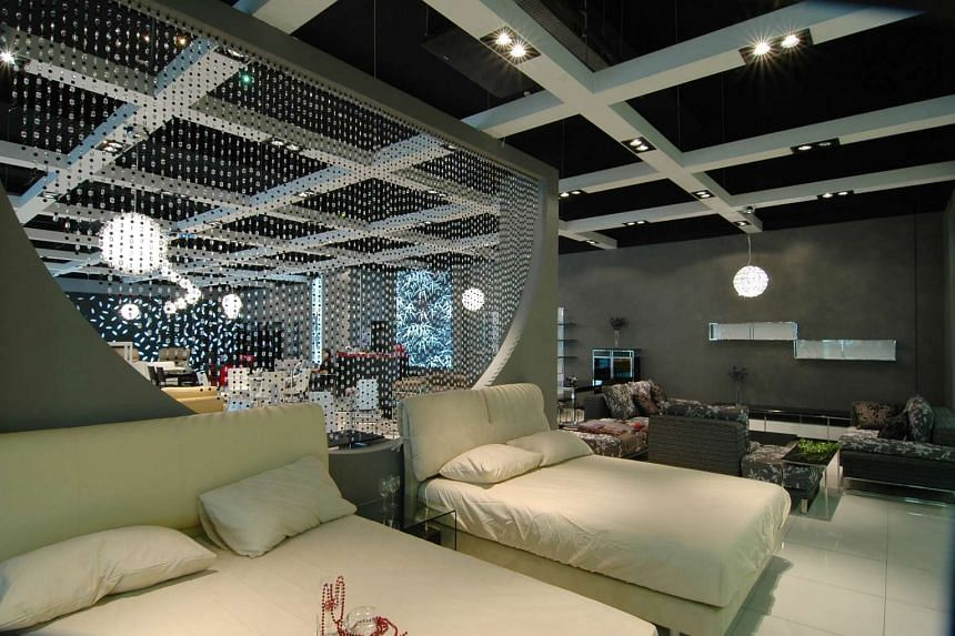 A showroom at the Singapore Furniture Industries Council (SFIC).