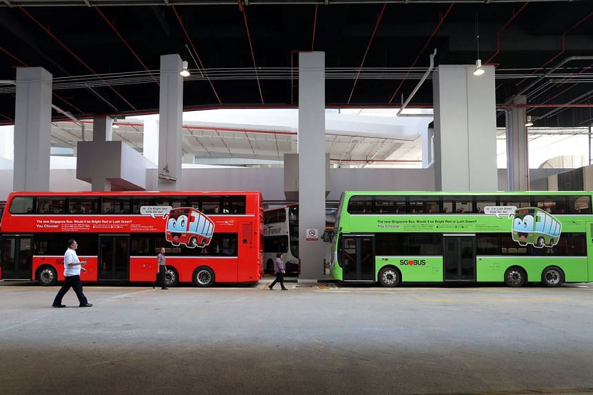 The results of a public poll to choose between red and green for the new colour of public buses will be made known during the LTA's Bus Carnival next month.