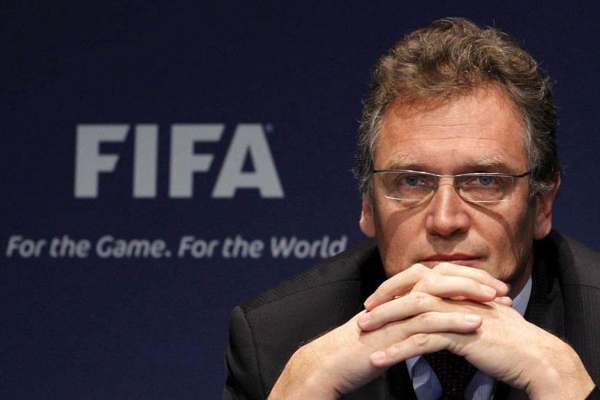 Zurich-based Fifa in January fired Valcke (above) amid alleged corruption involving World Cup ticket sales.