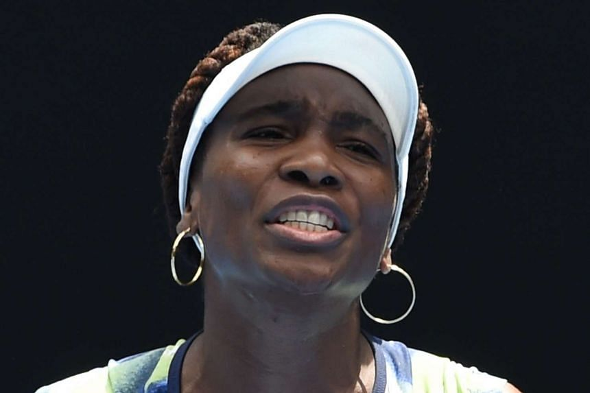 Williams (above, in a file photo) was struggling at 2-5 down in the first set, but she then won five straight games and accelerated to victory.