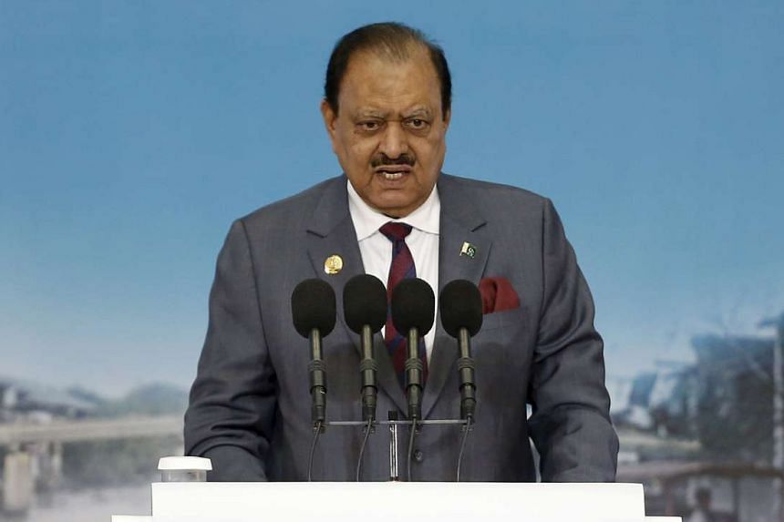 """""""Valentine's Day has no connection with our culture and it should be avoided,"""" said Mamnoon Hussain."""
