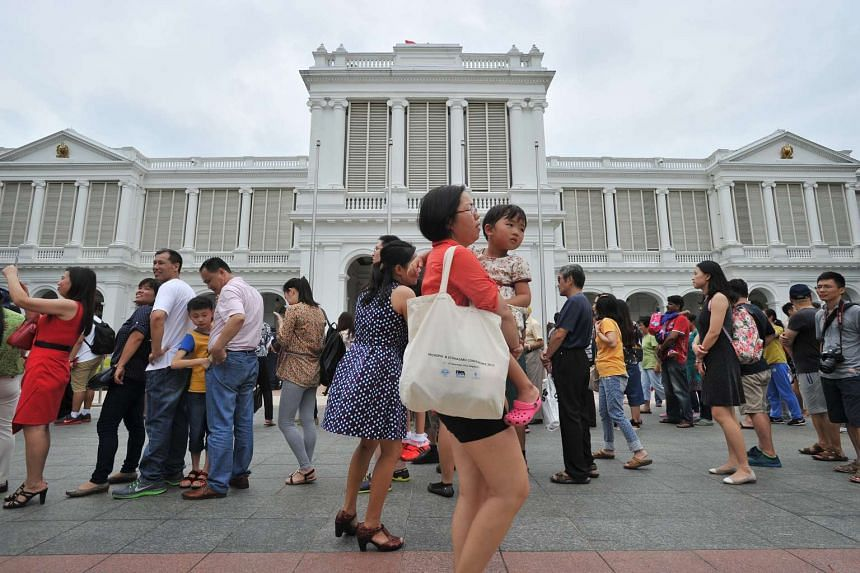 Thousands throng the Istana during open house for a look at what lies behind its gates. Soon, people can get a view of its treasures all year round in a heritage gallery across the road at Istana Park.