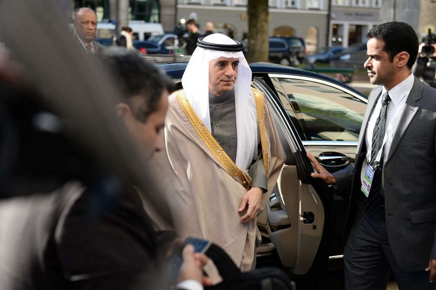 Saudi Arabia's Foreign Minister Adel al-Jubeir arrives to the 52nd Munich Security Conference in Munich, Germany, on Feb 12, 2016.