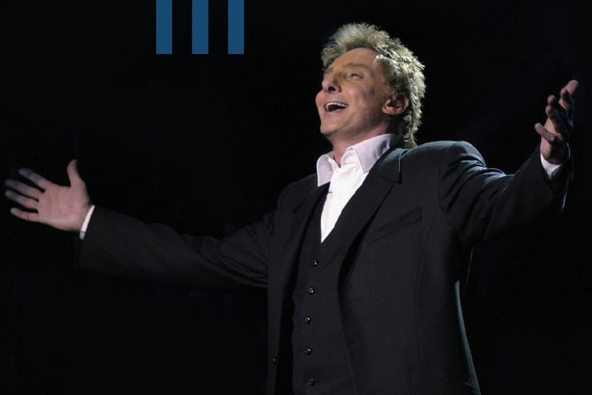 """Manilow was rushed back to hospital """"due to complications from emergency oral surgery""""."""