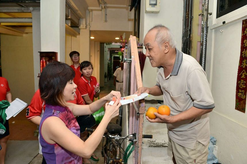 Homes are the main breeding ground for mosquitoes, said Senior Minister of State Amy Khor, who gave out mosquito repellents and fliers on dengue, together with Mandarin oranges, to her constituents in Bukit Batok during her Chinese New Year visits on