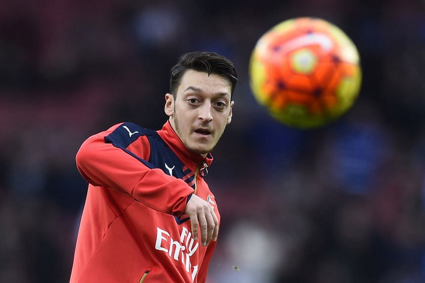 While Arsenal playmaker Mesut Oezil could have a major impact against Leicester tomorrow, he has not had an assist this year. And none of the Gunners' forwards have scored in their last four league games.