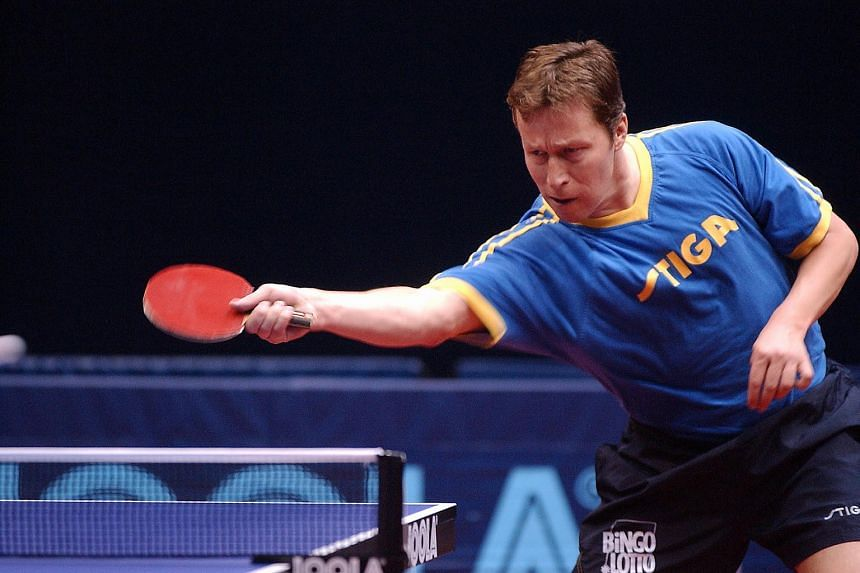 Former Olympic and world champion Jan-Ove Waldner, widely revered as the greatest paddler of all time, played his final competitive match on Thursday.