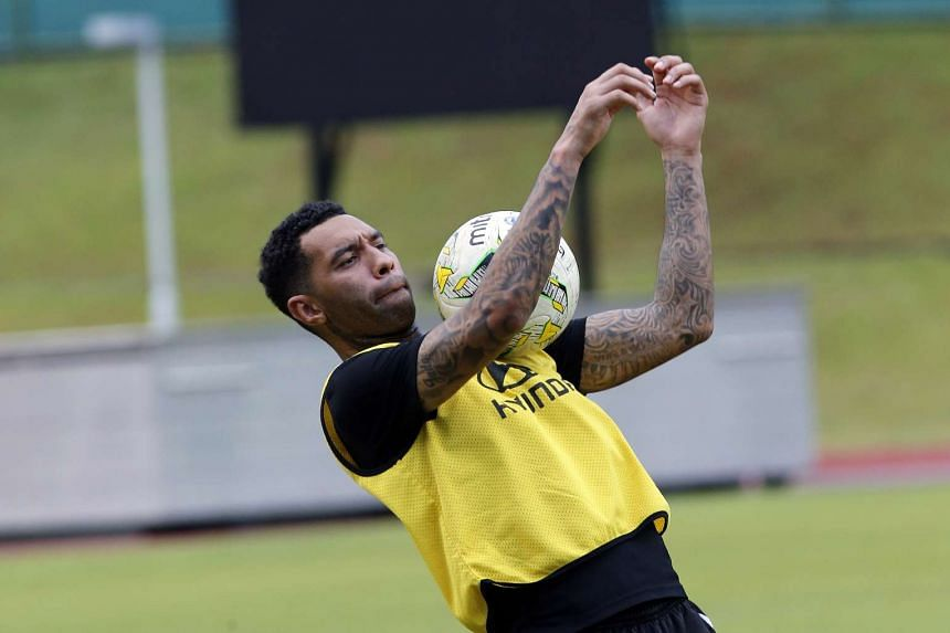Jermaine Pennant had just recovered from a hamstring injury and may not be fit enough to play for the entire duration of his team's opening match.