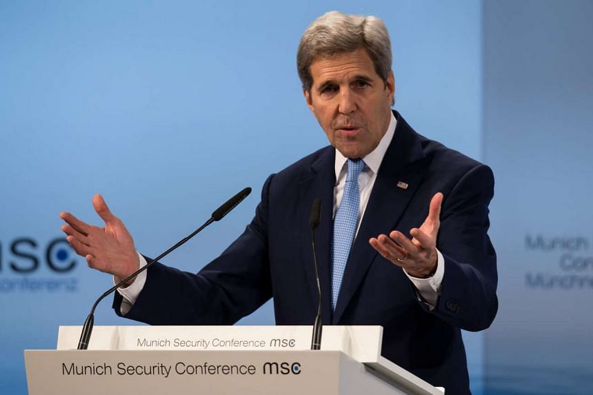 US Secretary of State John Kerry urged parties involved in the Syrian civil war to try to seek an end to the crisis through political means.
