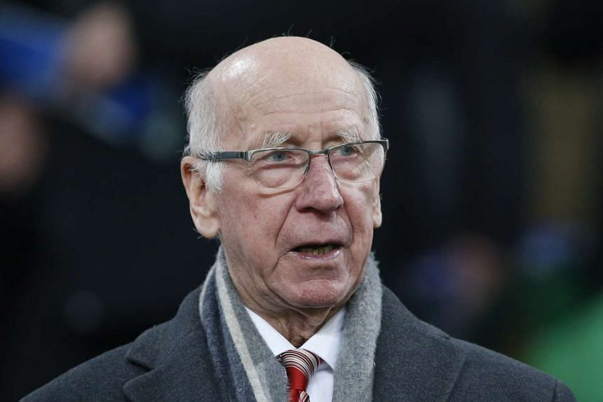 The South Stand at Manchester United's Old Trafford stadium will be named after Bobby Charlton.