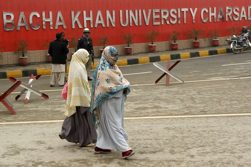 Bacha Khan university reopened on Feb 15, 2016, almost a month after being attacked by the Taleban.