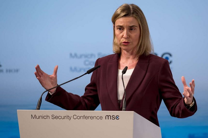 Ms Federica Mogherini said on Feb 15 that Bosnia has applied to join the European Union.