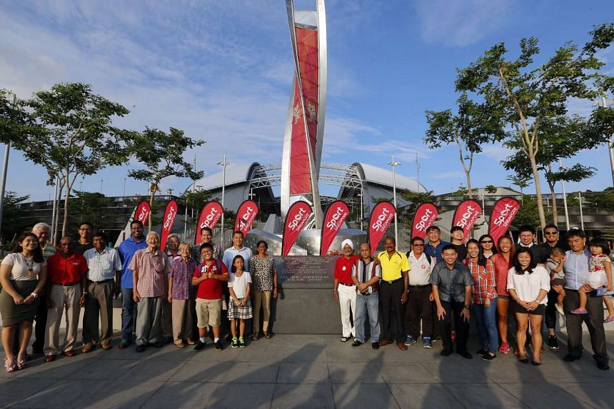 The Aspirations time capsule - contraining 50 items that symbolise Singapores sporting aspirations - was officially laid on Feb 15, 2016.