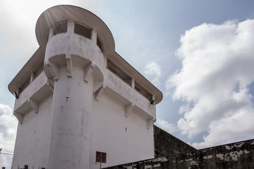 Changi Prison's turrets served as watchtowers.