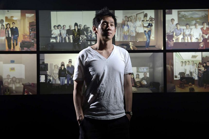 Singaporean photographer John Clang, who is based in New York, seen here with his Being Together series in 2013.