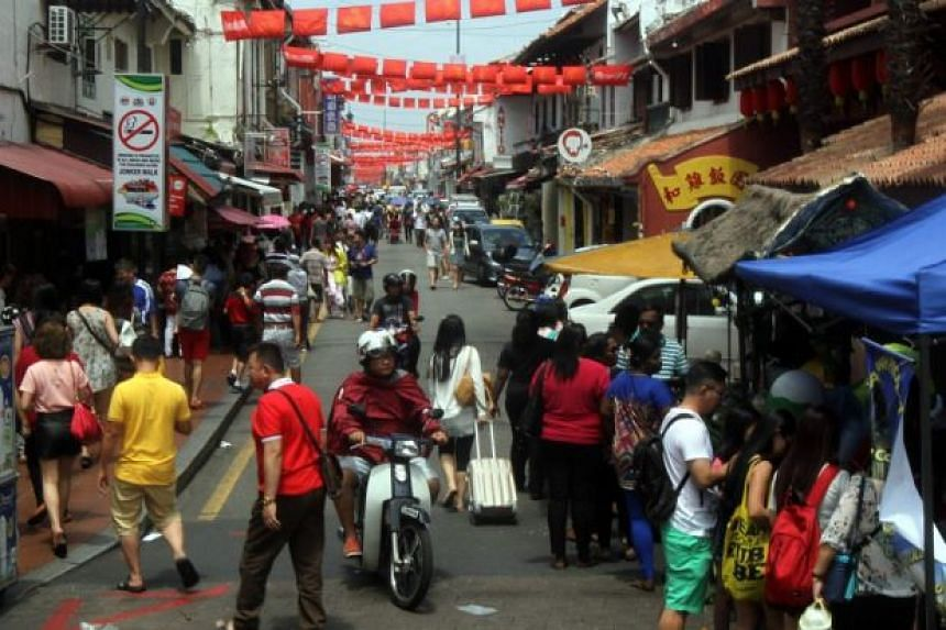 Traders at Malacca's Jonker Walk are outraged at the sale of penis-shaped sausages, calling it an embarassment to the business community.