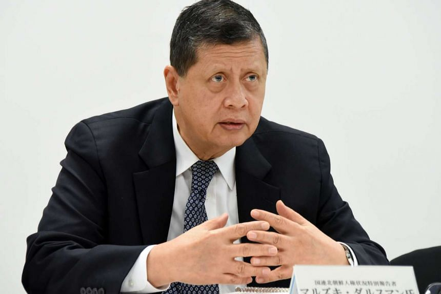 Mr Marzuki Darusman, the United Nation's Special Rapporteur on the situation of human rights in North Korea.