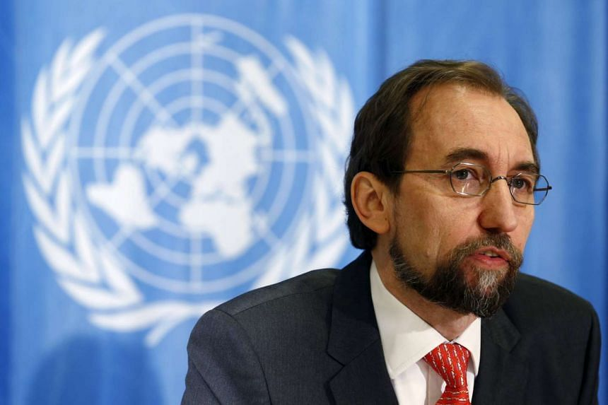 UN High Commissioner for Human Rights Zeid Ra'ad Al Hussein is concerned by China's clampdown on lawyers and activists.