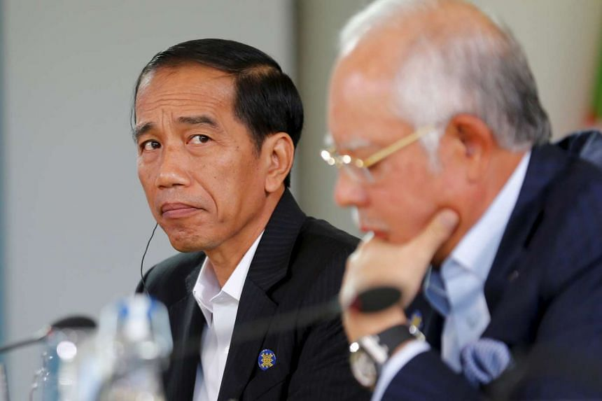 Indonesian President Joko Widodo at the Asean summit in Sunnylands, California, on Feb 15.