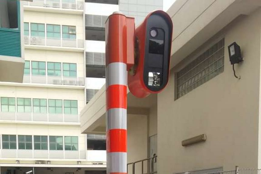 The new Mobile Speed Camera, which operates round-the-clock even during inclement weather.
