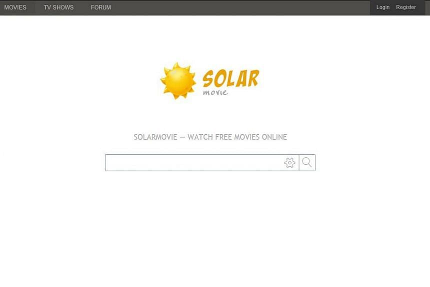 Singapore Internet service providers have been told to disable access to movie download website Solarmovie.ph.