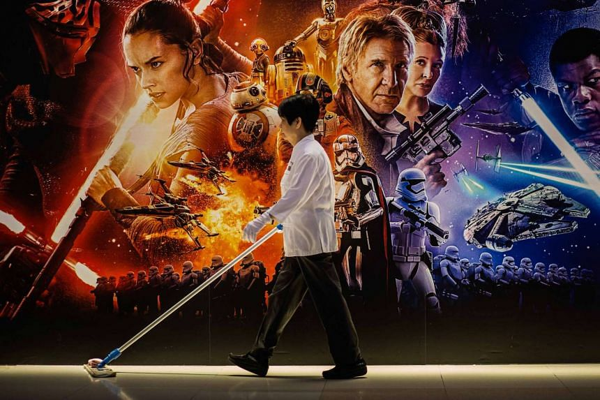 The Motion Picture Association, which includes Star Wars (pictured) owner Walt Disney, said that movie download site Solarmovie was found to be flagrantly infringing intellectual property.