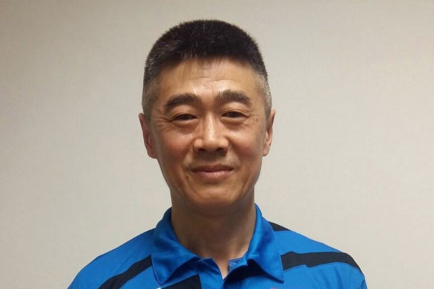 Newly appointed national table tennis women's head coach Chen Zhibin (above).