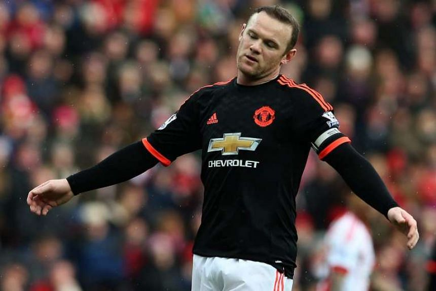Wayne Rooney has been left out of the squad travelling to face FC Midtjylland on Thursday (Feb 18).