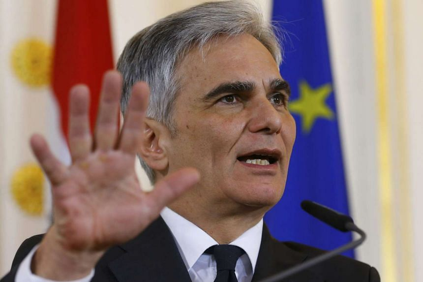 Austrian Chancellor Werner Faymann said he expected Germany to clamp down on the number of asylum seekers allowed into the country.