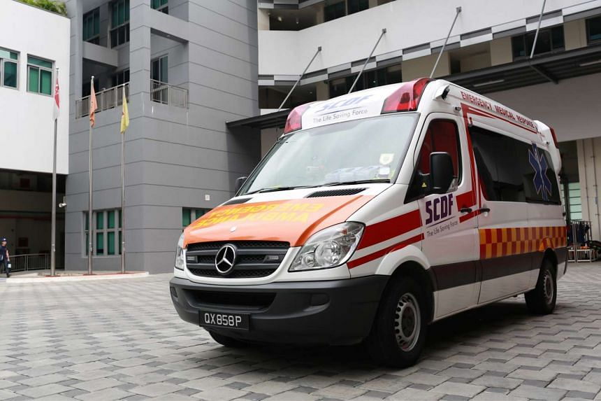 Ambulance calls received by SCDF continue to increase, fewer
