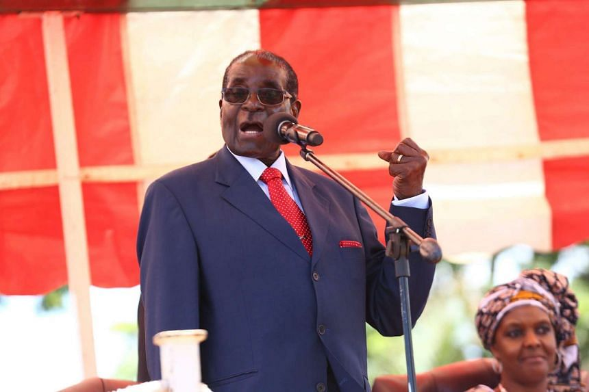Zimbabwean President Robert Mugabe has implied that he has no intention of stepping down despite his age.