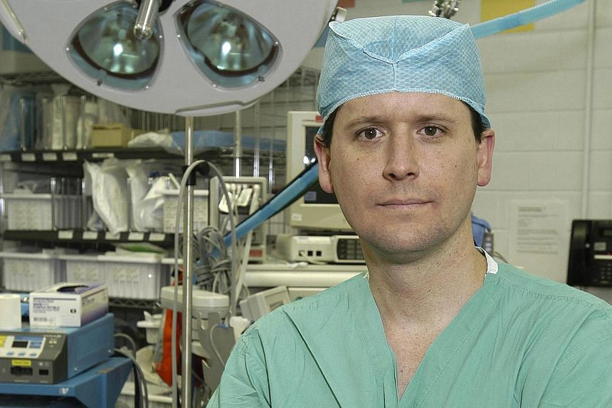 Dr Richard Redett, a plastic surgeon at Johns Hopkins Hospital, will help perform the operation.