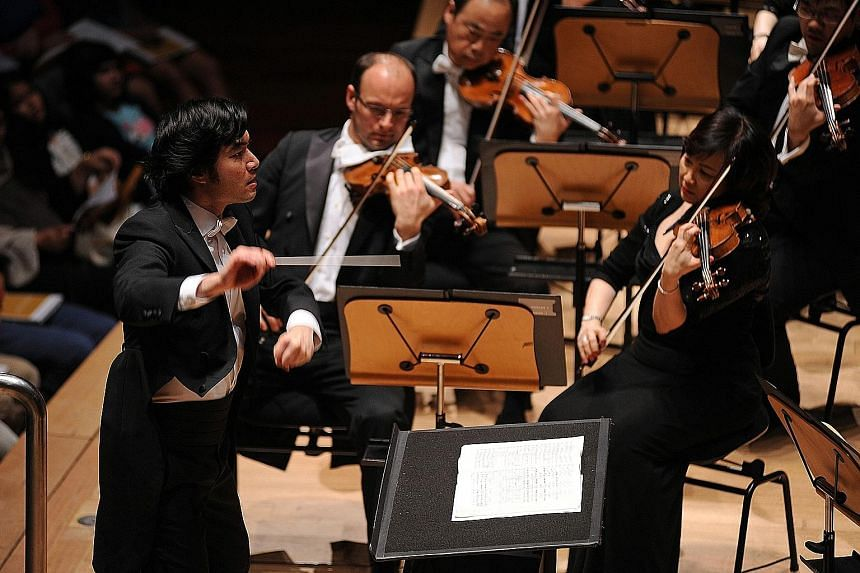 Conductor Darrell Ang (above), whose recording of Humen 1839 with the New Zealand Symphony Orchestra, was nominated for best orchestral performance