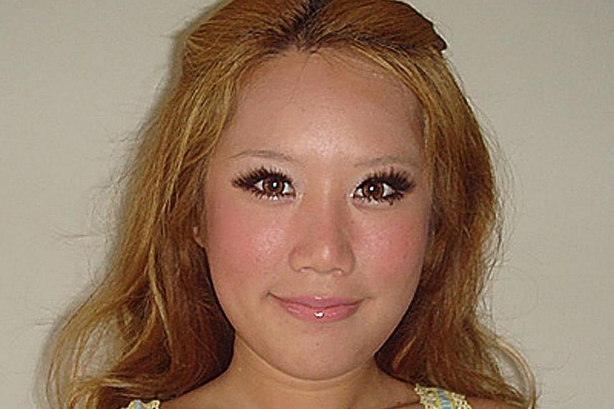 After she narrowed her nostrils and inserted a nose-bridge implant. After she replaced the first nose implant with a higher one. After double-eyelid surgery, during which she also widened her eyes. After another double-eyelid job. She also had her ey