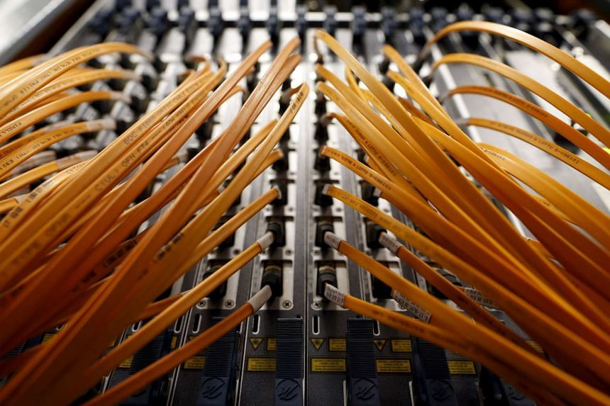 Fibre optic network builder NetLink Trust said that a damaged cable was fixed this morning.