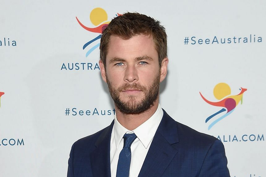 Coming in April: Chris Hemsworth will meet fans at Universal Studios Singapore to promote their new movie, The Huntsman: Winter's War.
